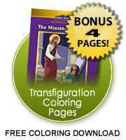 Transfiguration coloring pages