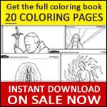 Fatima coloring book