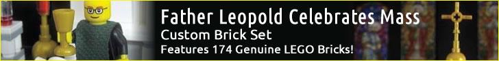 Father Leopold custom Lego set